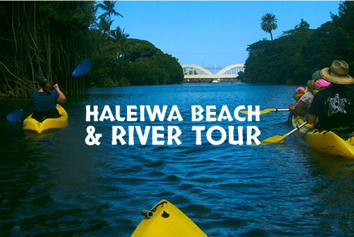 Kayaking in Oahu: Haleiwa Beach