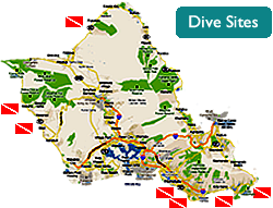 Dive Sites in Oahu