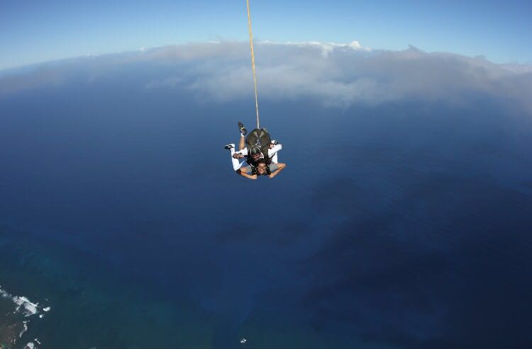 Is Skydiving Oahu on Your 'Bucket List'?
