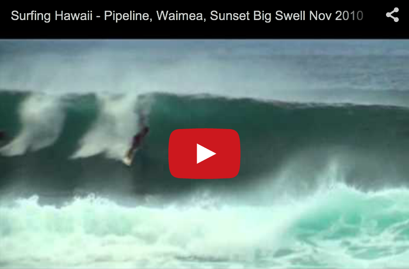 Pipeline, Waimea, Sunset Big Swell Nov 2010