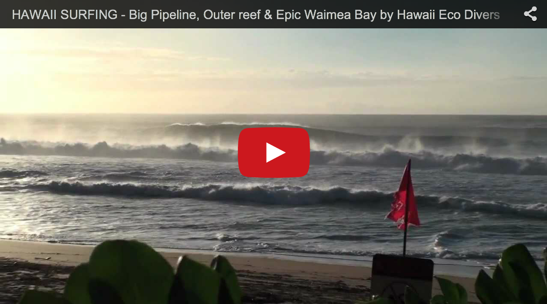Big Pipeline, Outer reef & Epic Waimea Bay