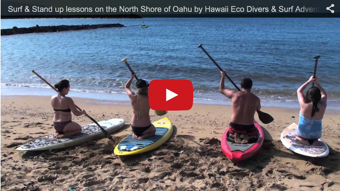 Surf & Stand up lessons on the North Shore of Oahu