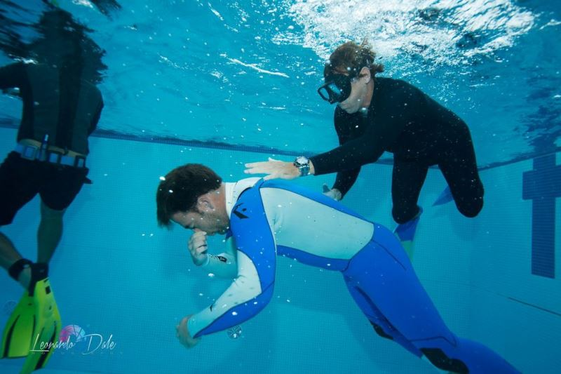 Hawaii Eco Divers apnea training in Brazil