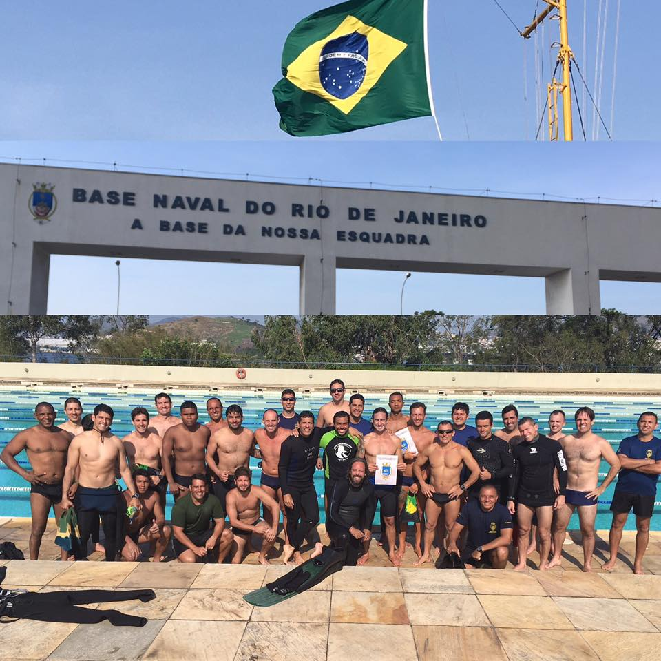 Apnea training and surf survival course in Brazil