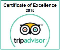 TripAdvisor Cert of Excellence Scuba Dive Oahu 2015