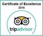 TripAdvisor Certificate of Excellence best scuba dive shop Oahu 2016