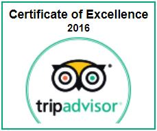 TripAdvisor Cert of Excellence Scuba Dive Oahu 2016