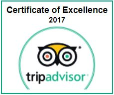 TripAdvisor Cert of Excellence Scuba Dive Oahu 2017