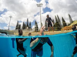 Apnea & surf survival course at Hawaii Eco Divers