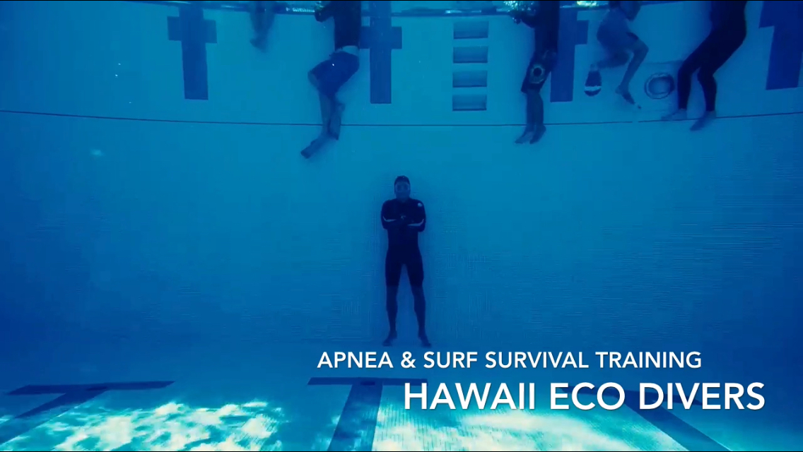 Apnea & surf survival course with Hawaii Eco Divers