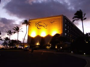 Turtle Bay Resort Night