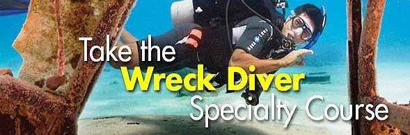 Wreck Diver course in oahu