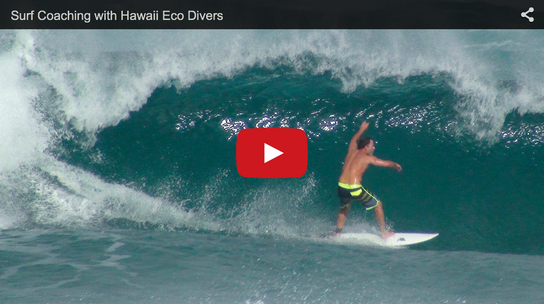 Surf Coaching with Hawaii Eco Divers