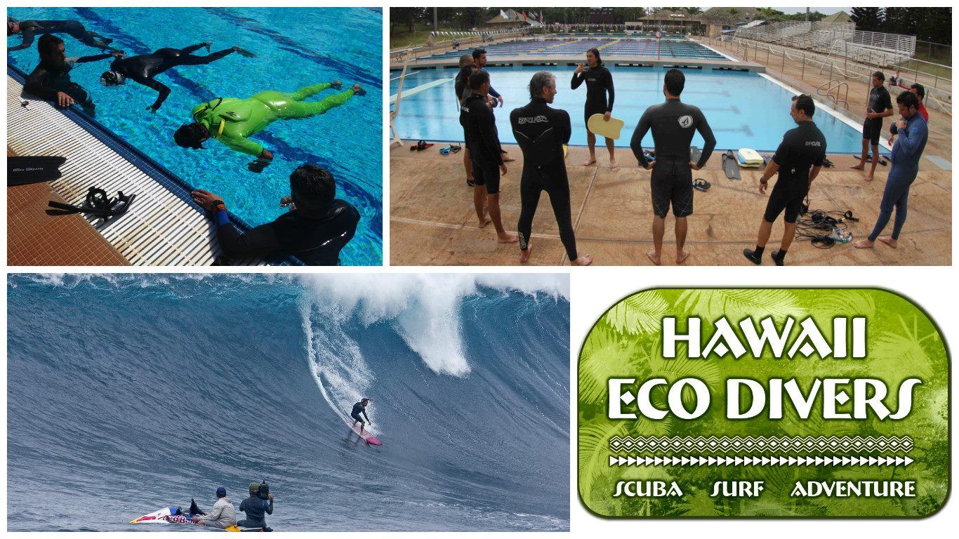 Apnea training and surf survival course in Oahu