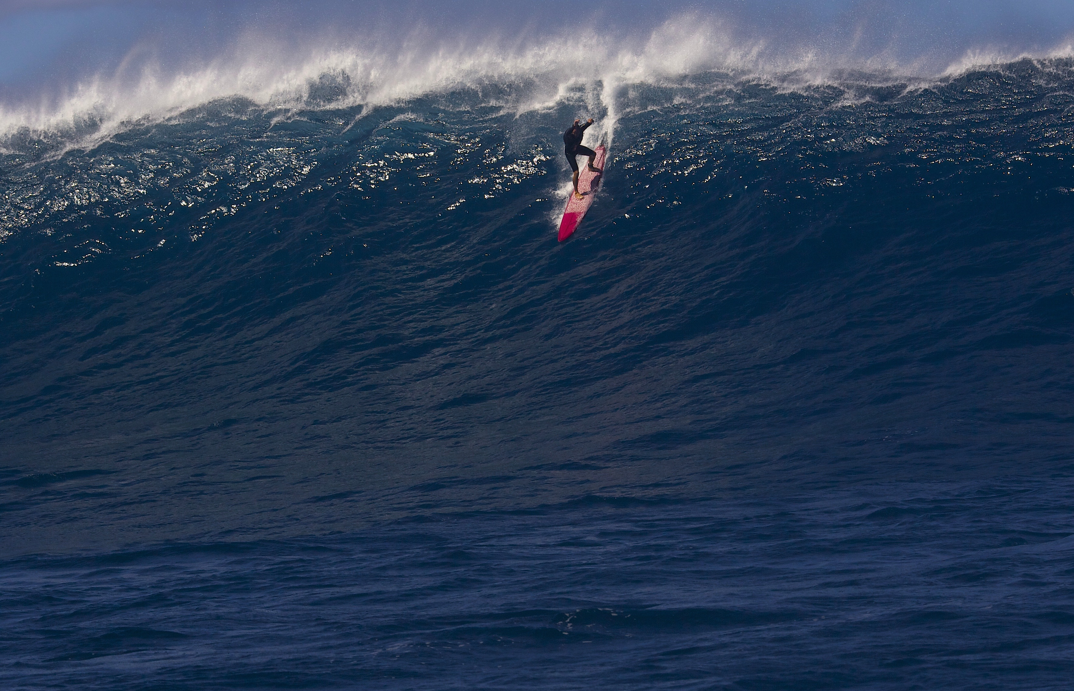 surf big waves with Apnea training and surf survival course in Oahu