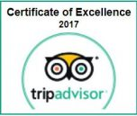 TripAdvisor Certificate of Excellence best scuba dive shop Oahu 2017